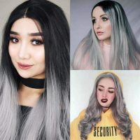 gray-synthetic-lace-front-wigs